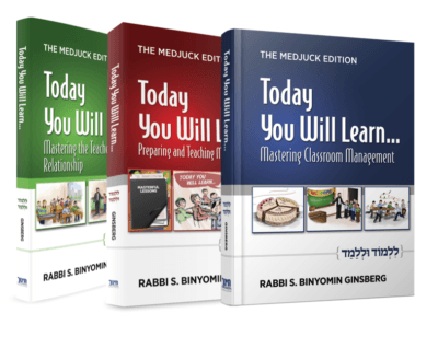 The three books in the Today You Will Learn series