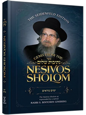 Gems from the Nesivos Shalom: Yamim Noraim