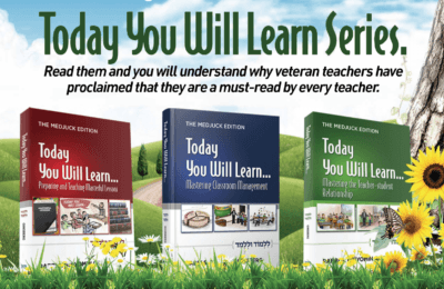 Series of three books in the Today You Will Learn Series